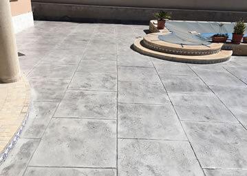 pavimentos de hormigon impreso murcia