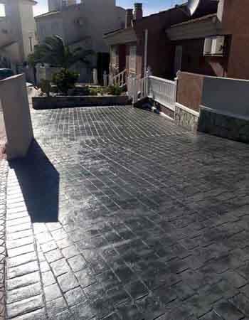 Hormigon impreso Murcia